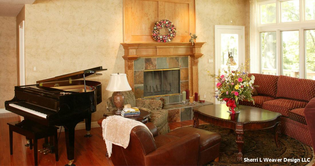 Lee's Summit House Remodel Living Room Idea