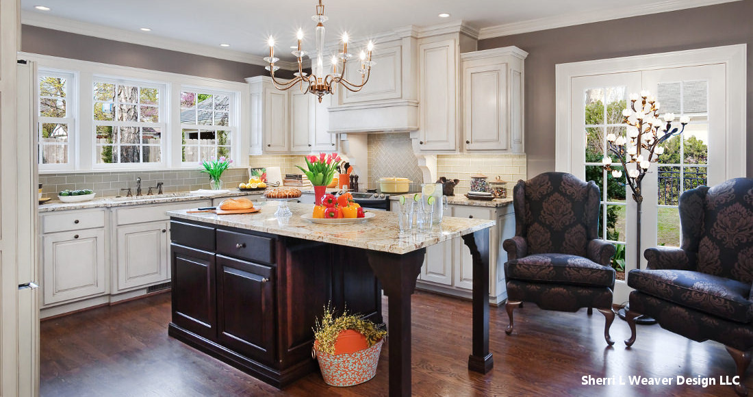 A Kitchen Remodel for Kansas City with White Cabinets